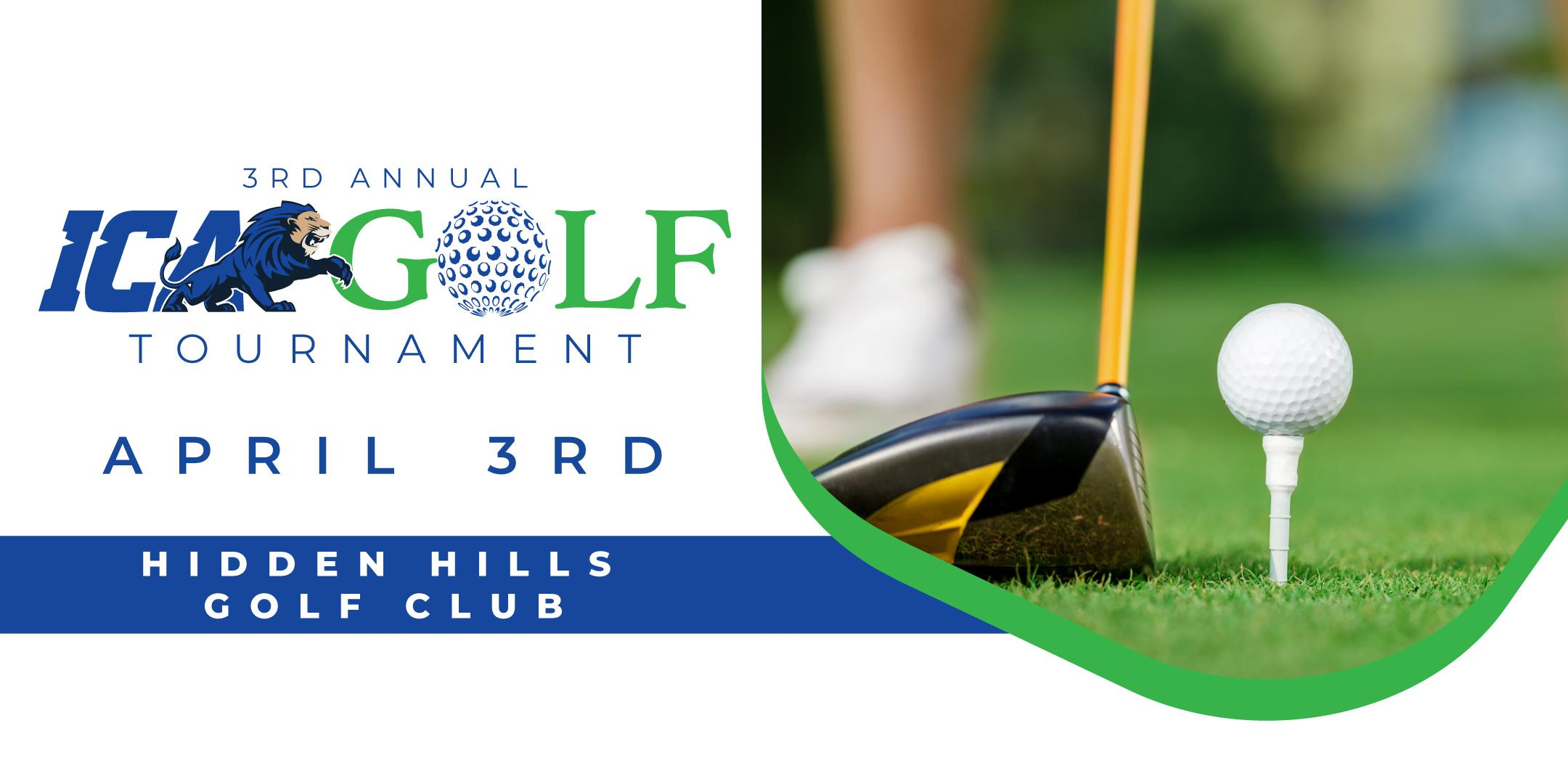 3rd Annual ICA Golf Tournament