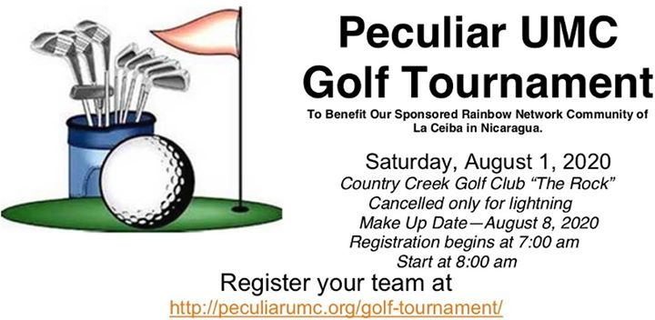 Peculiar UMC Golf Tournament