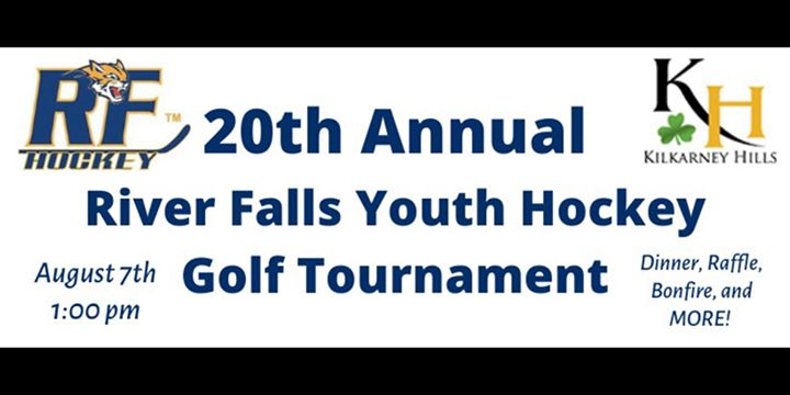 River Falls Youth Hockey 20th Annual Golf Tournament