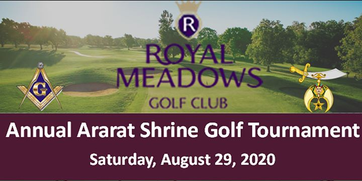 Royal Meadows Golf Club Host Ararat Shrine Tournament