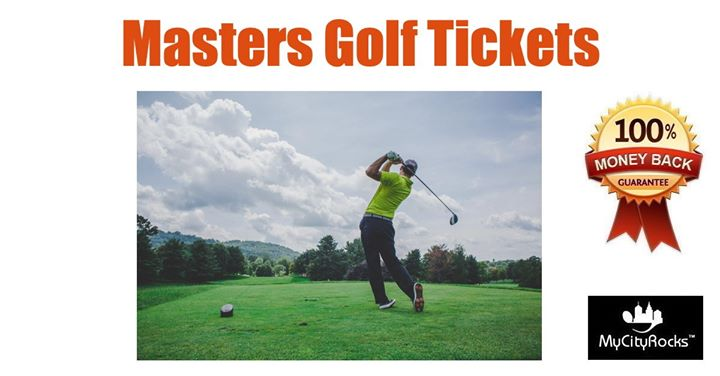 Masters Golf Tournament Tickets Augusta National Golf Club GA