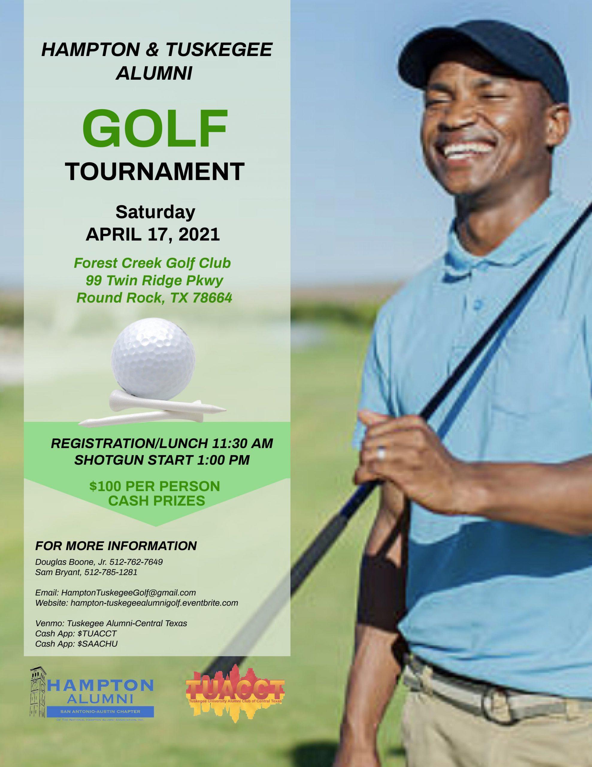 Hampton & Tuskegee Alumni Golf Tournament