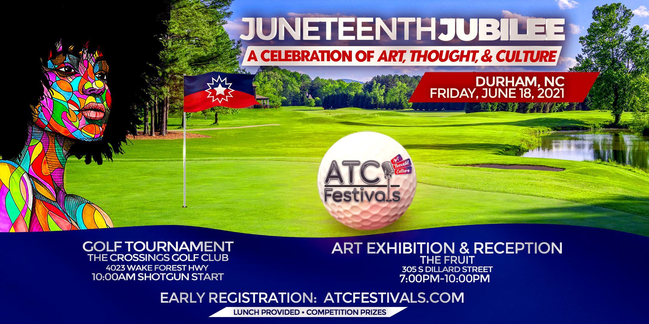 Juneteenth Jubilee – Golf Tournament, Art Exhibition, and Reception