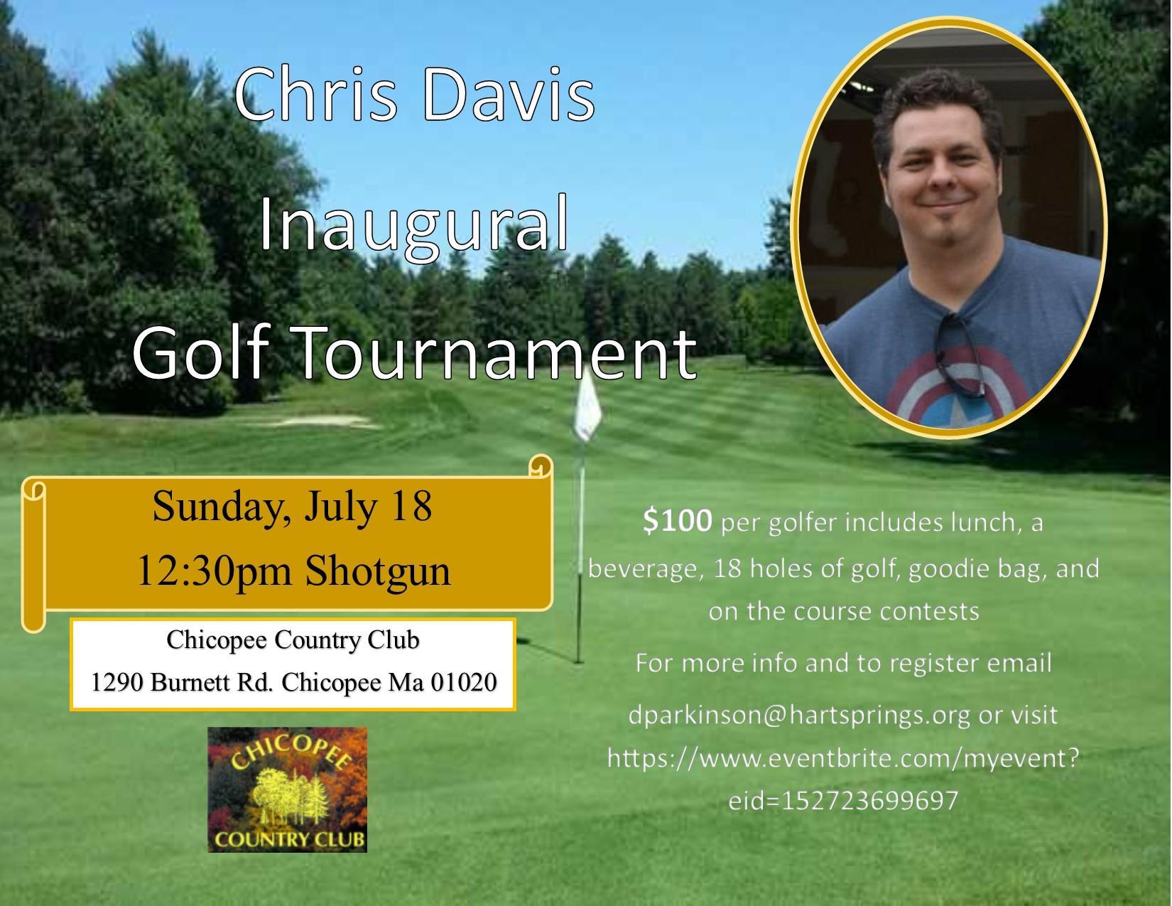 Chris Davis Memorial Golf Tournament