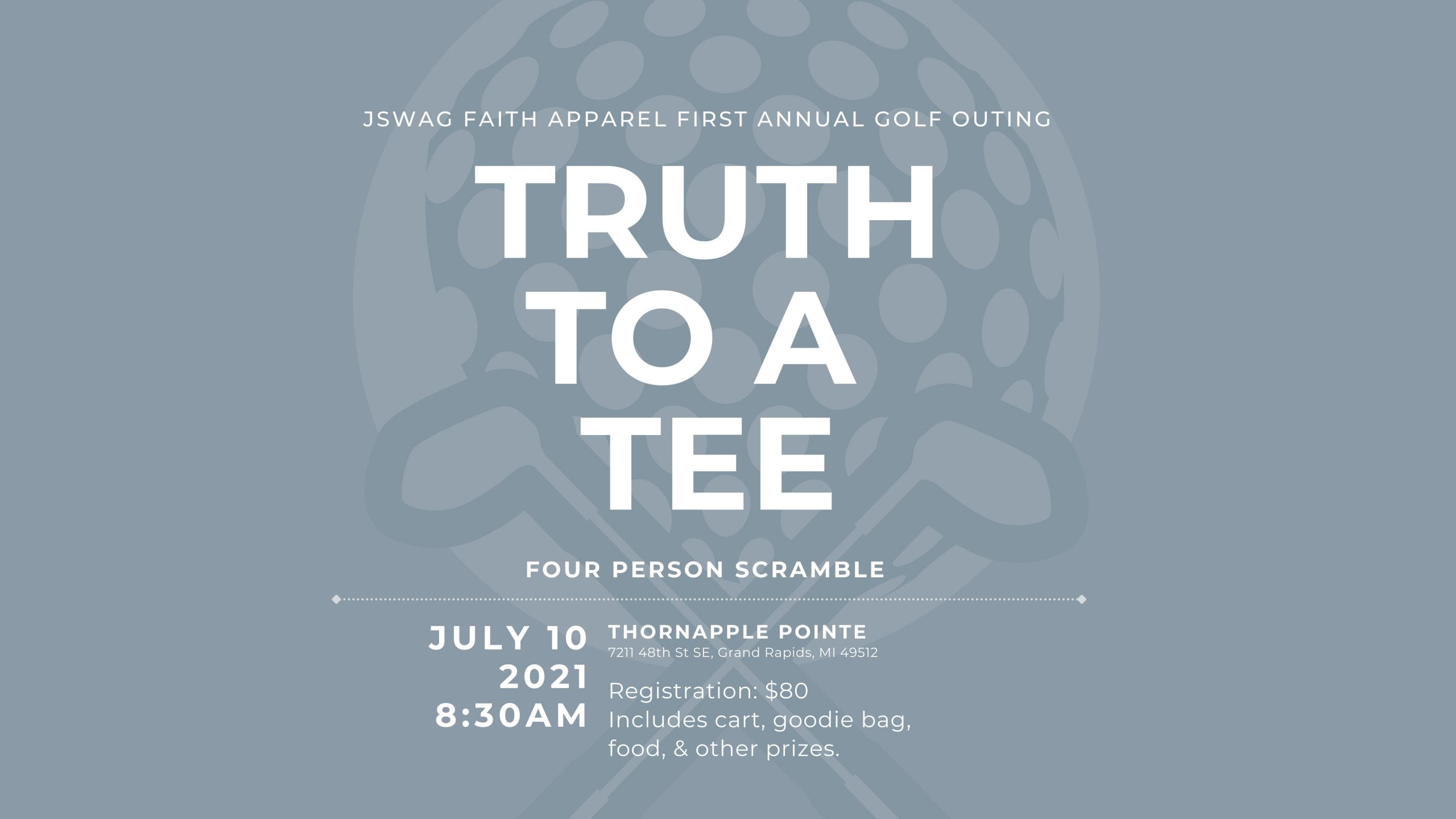 Truth To A Tee: First Annual Golf Outing