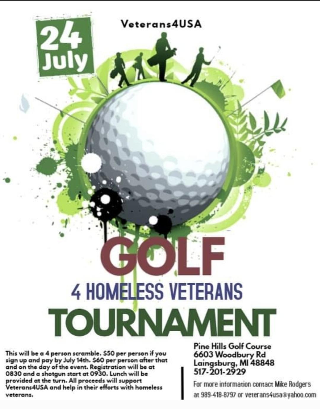 Golfing 4 Homeless Veterans