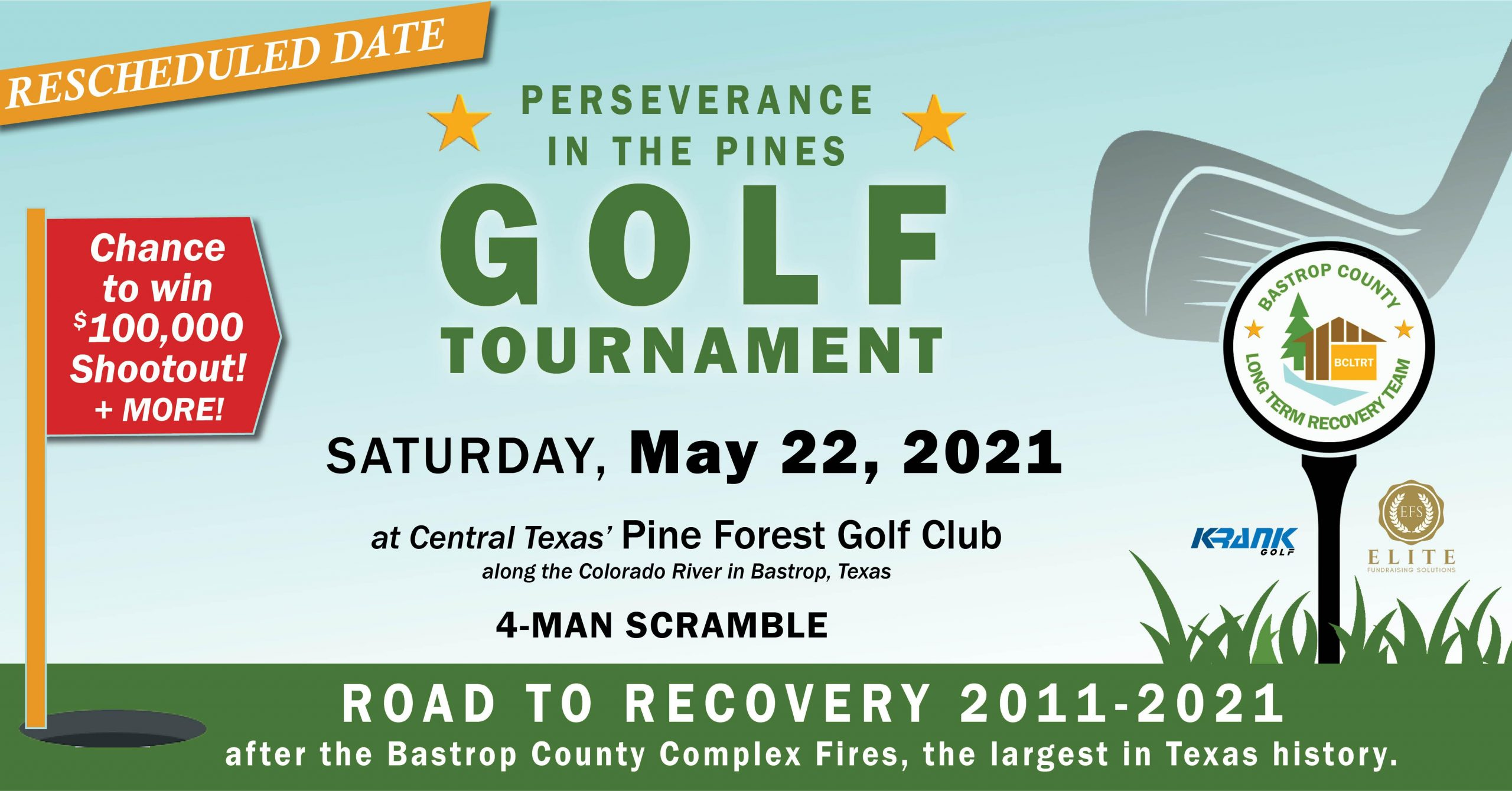 Perseverance in the Pines - Golf Tournament