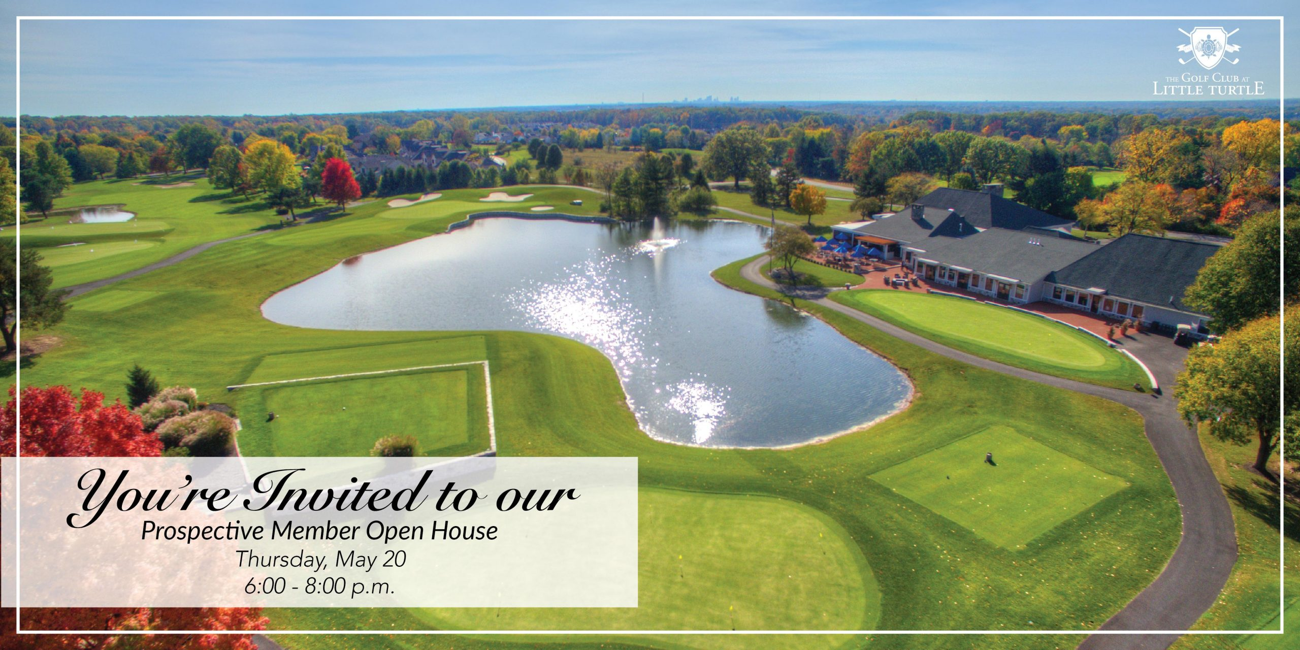 May Open House- Golf Club at Little Turtle