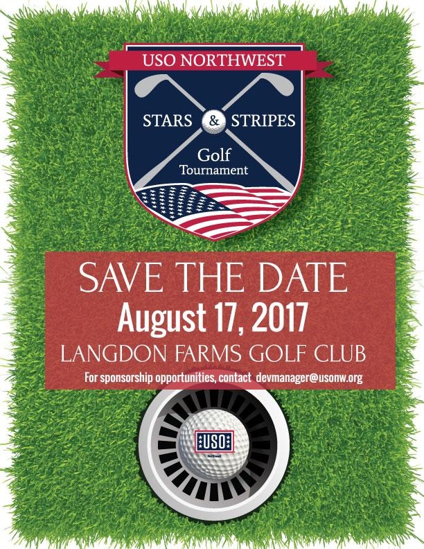 USO Northwest Stars & Stripes Golf Tournament 2021 - Volunteer Sign-up