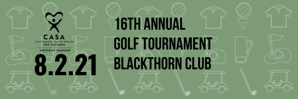 16th Annual CASA of Northeast Tennessee Golf Tournament