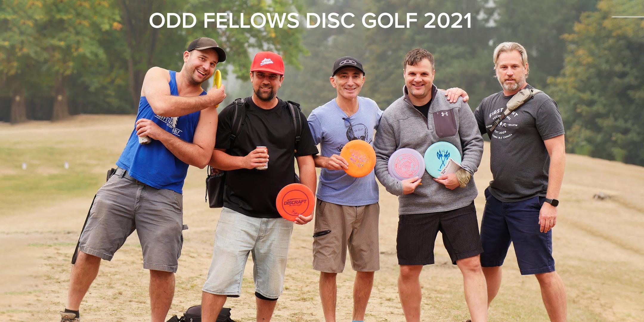 5th Annual Charity Odd Fellows Disc Golf Jamboree September 11, 2021