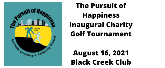 The Inaugural Pursuit of Happiness Golf Tournament
