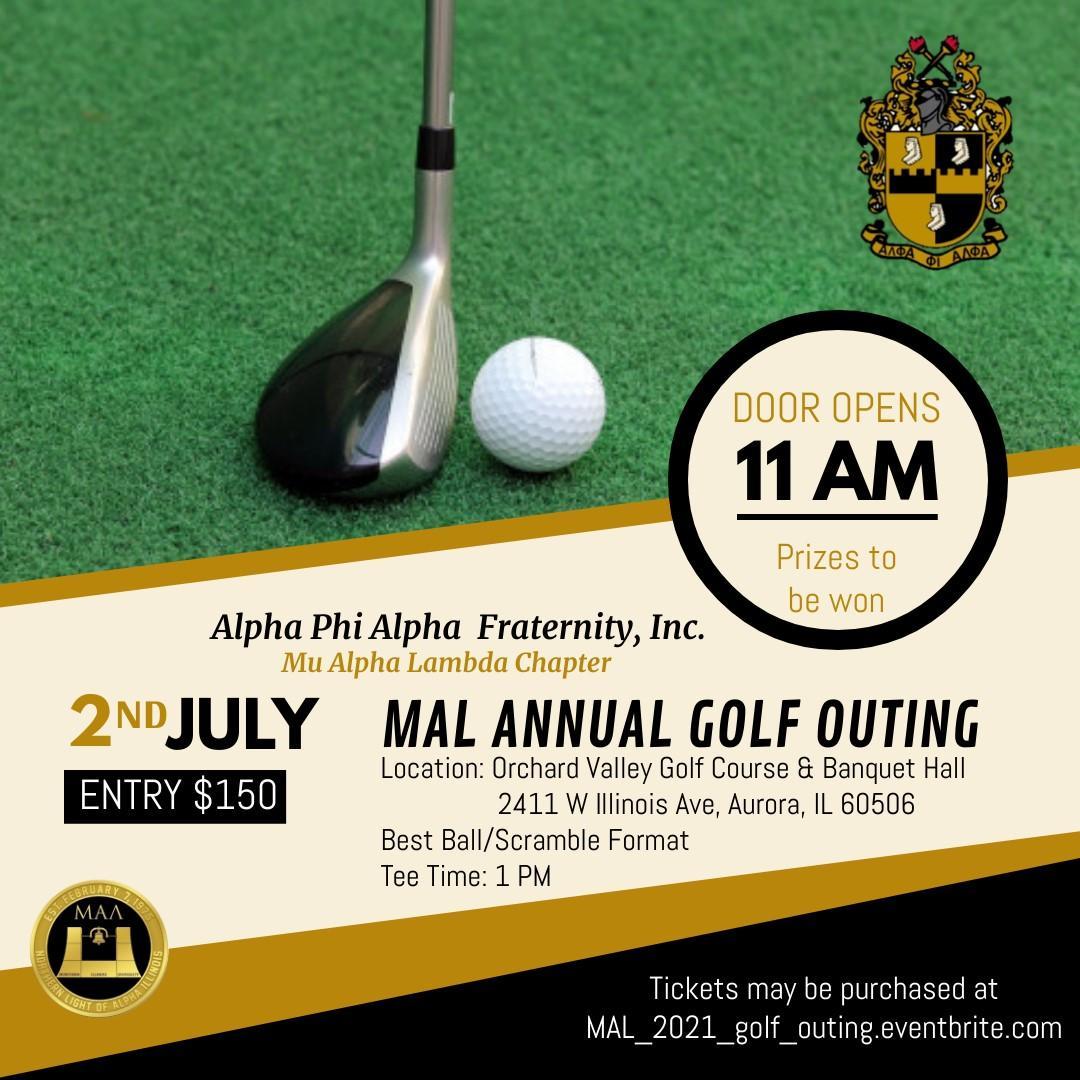 MAL Leadership Foundation Scholarship Golf Outing