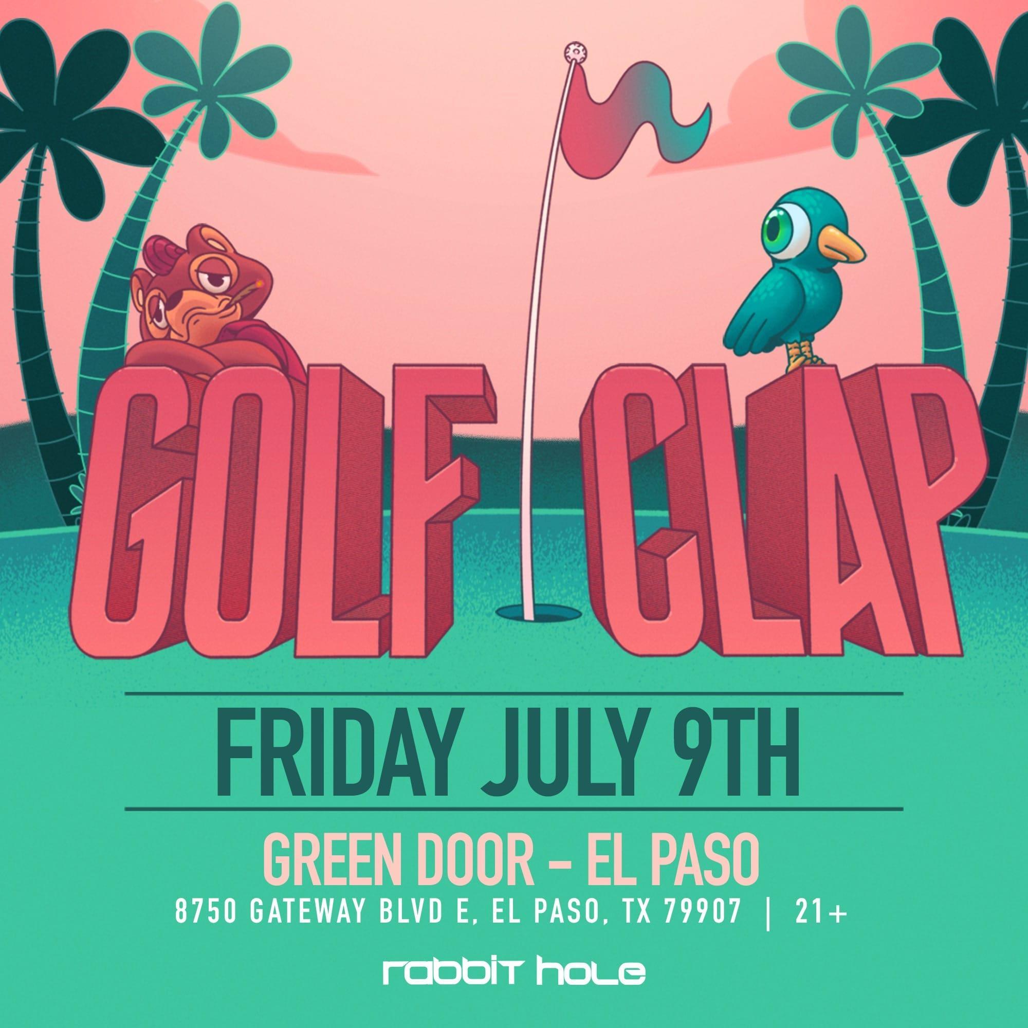 Golf Clap   July 9   Green Door EP