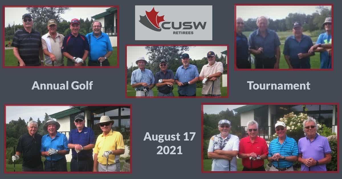 Annual Summer Golf Tournament