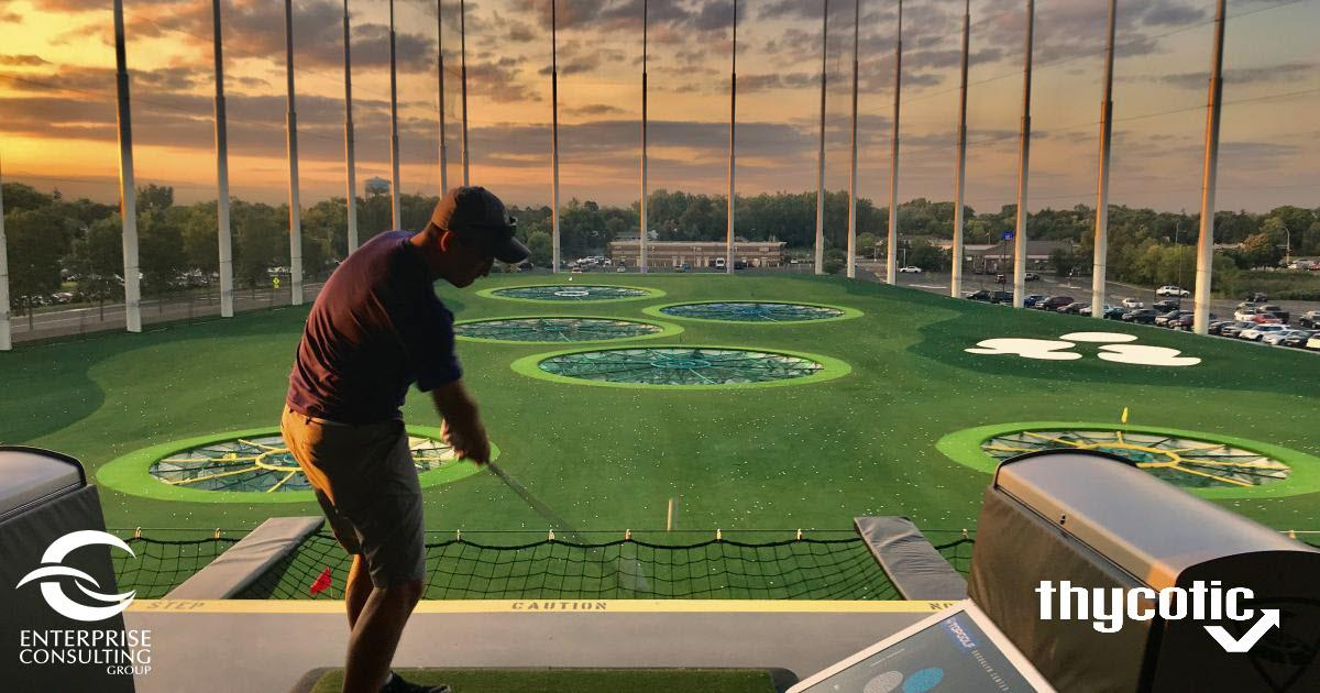 Enterprise Consulting Group and Thycotic TopGolf Happy Hour