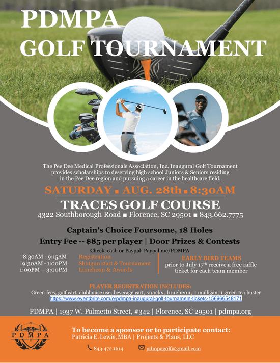 PDMPA Inaugural Golf Tournament