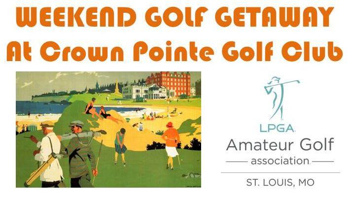 Weekend Golf Getaway at Crown Pointe Golf Club