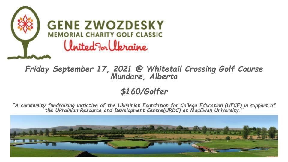 Gene Zwozdesky Memorial Charity Golf Classic