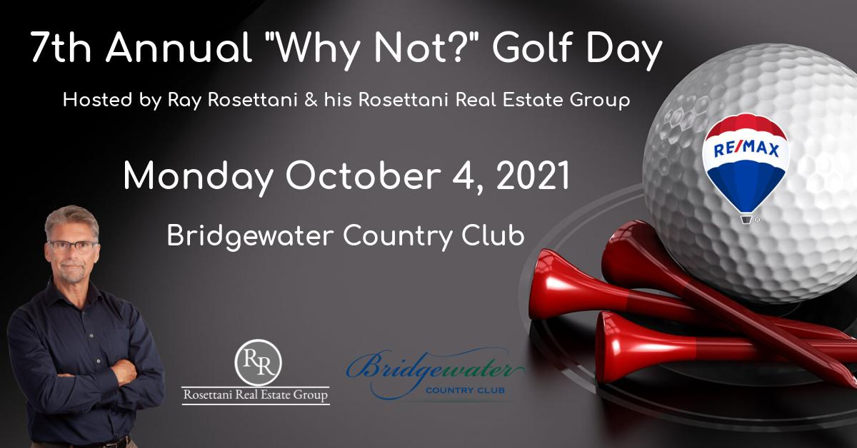 """7th Annual """"Why Not?"""" Golf Day"""