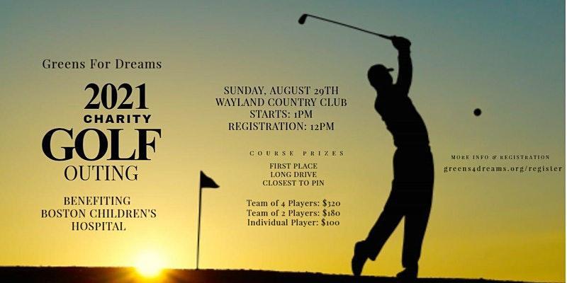 Boston Children's Hospital Charity Golf Tournament