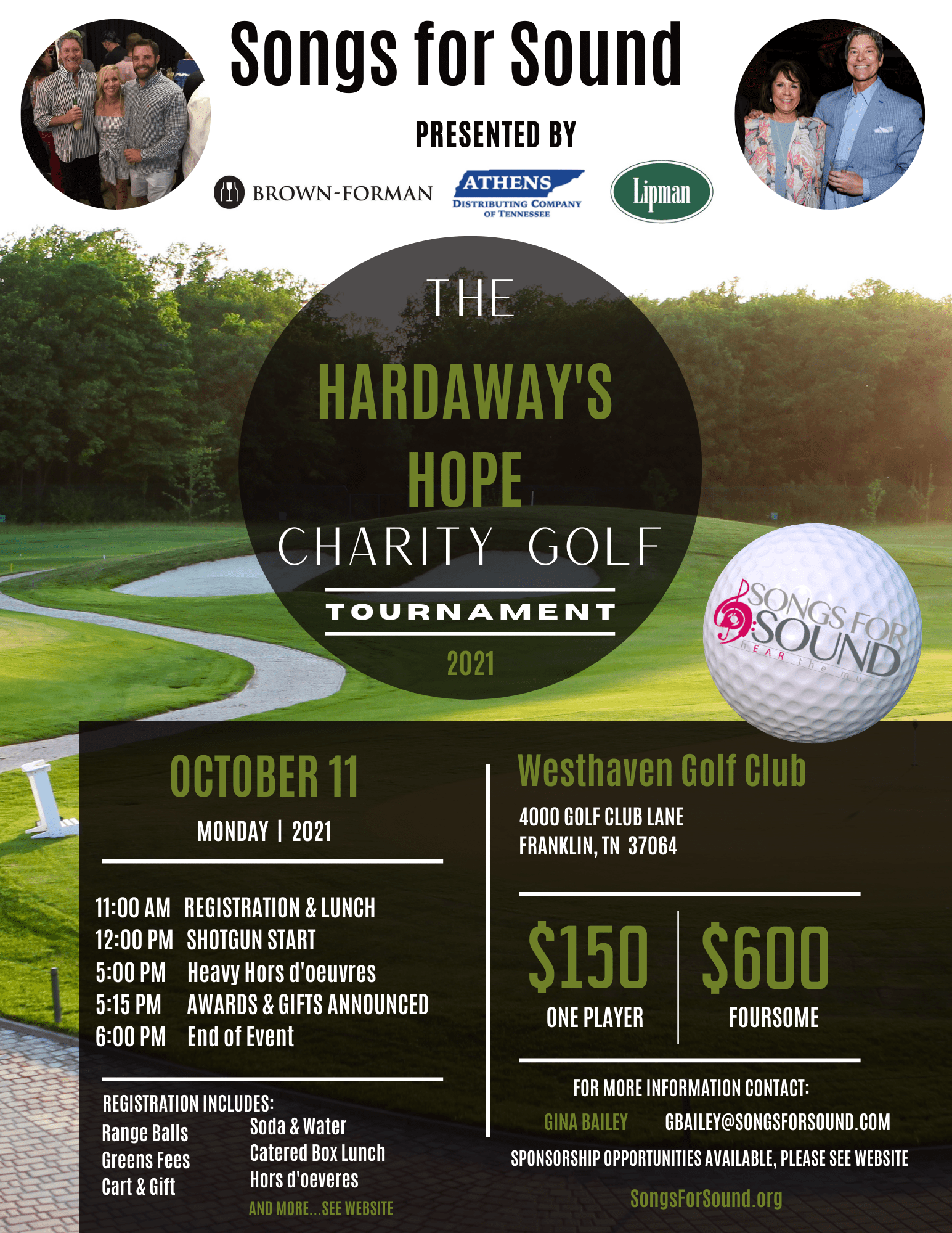 The 2nd Annual Hardaway's Hope Charity Golf Outing