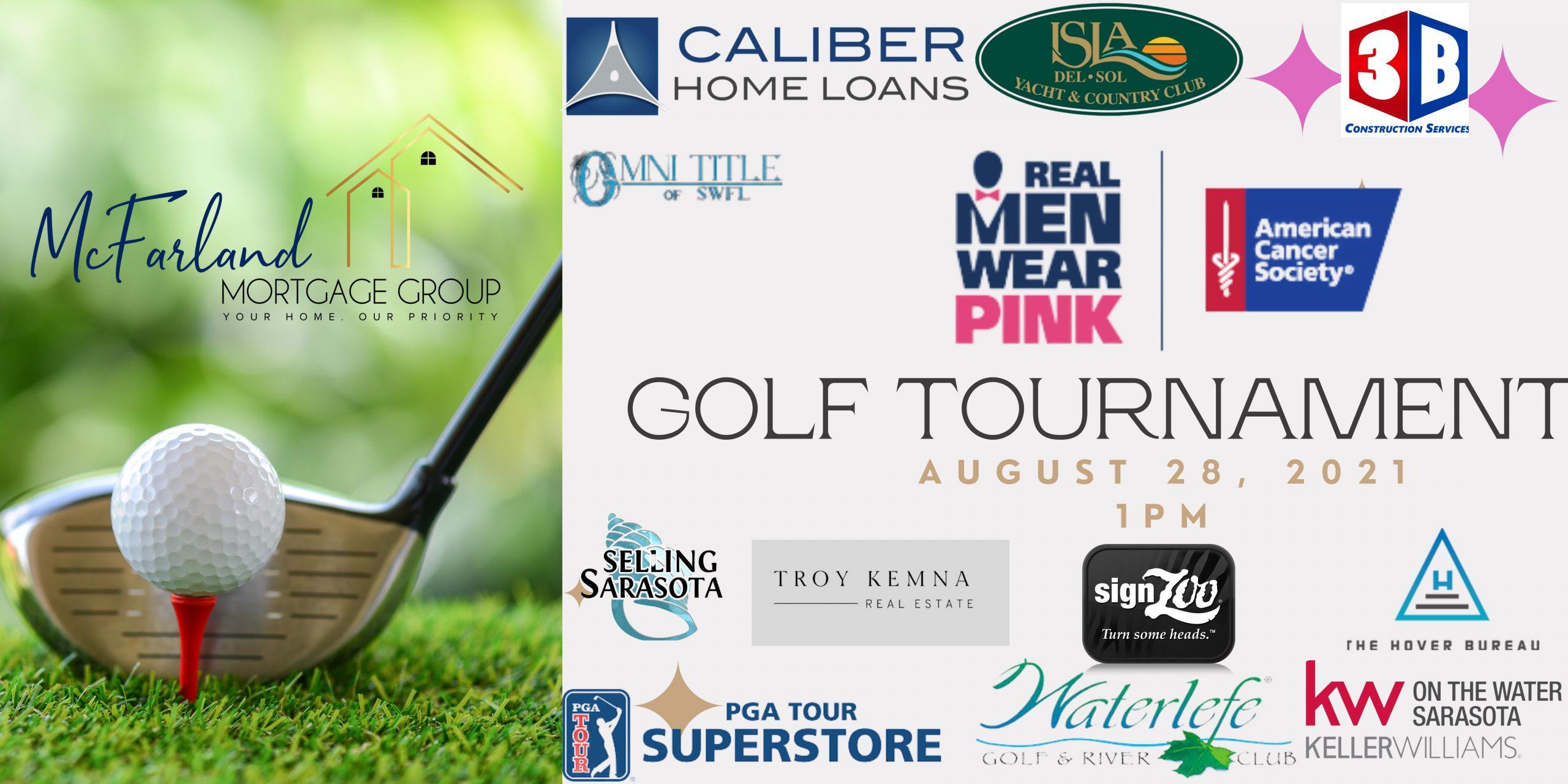 Real Men Wear Pink Golf Tournament
