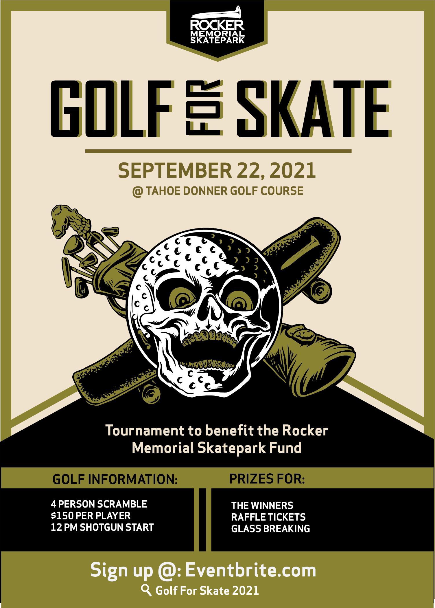 Golf for Skate 2021 Golf Tournament