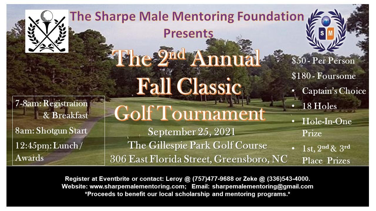 2nd Annual Fall Classic Golf Tournament