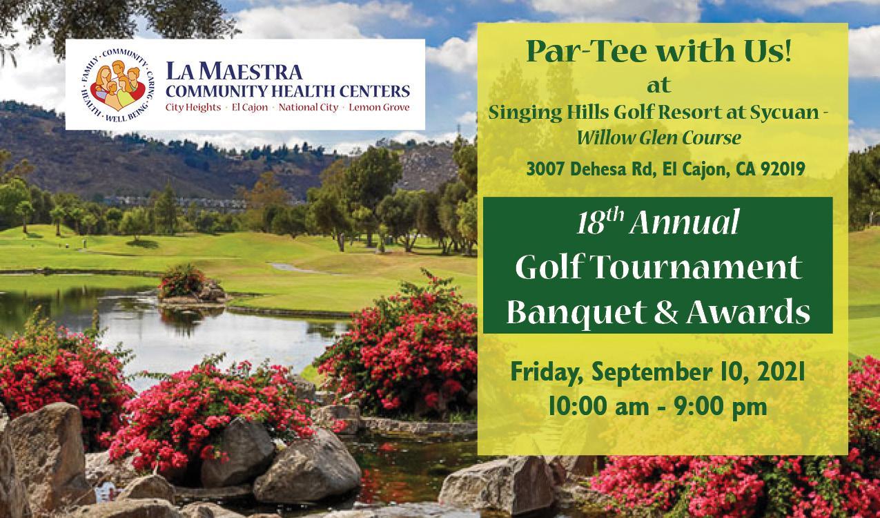 La Maestra's 18th Annual Golf Tournament