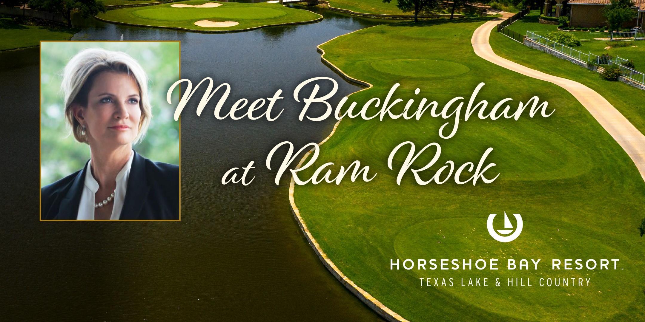 Buckingham Golf Tournament and Reception at Ram Rock - Horseshoe Bay Resort