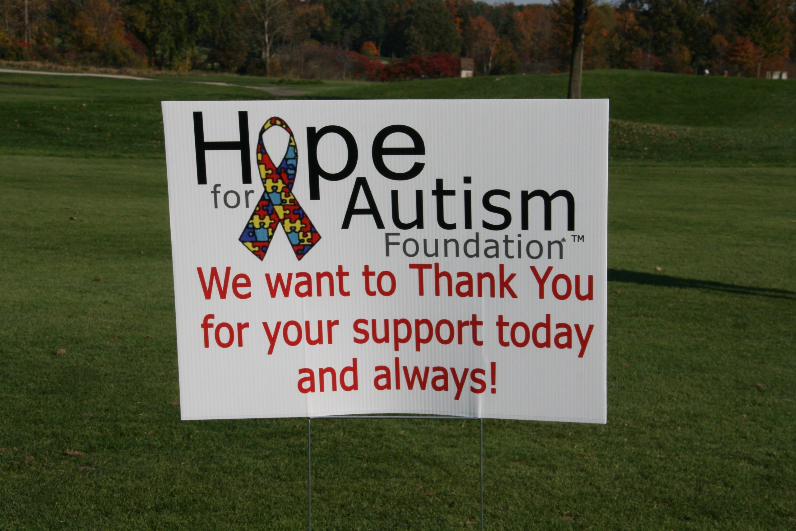 10th Annual Hope for Autism Golf Outing