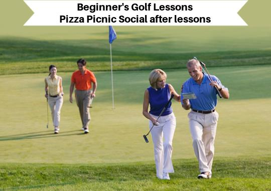 Long Island Singles Intro to Golf Lessons & Pizza Picnic
