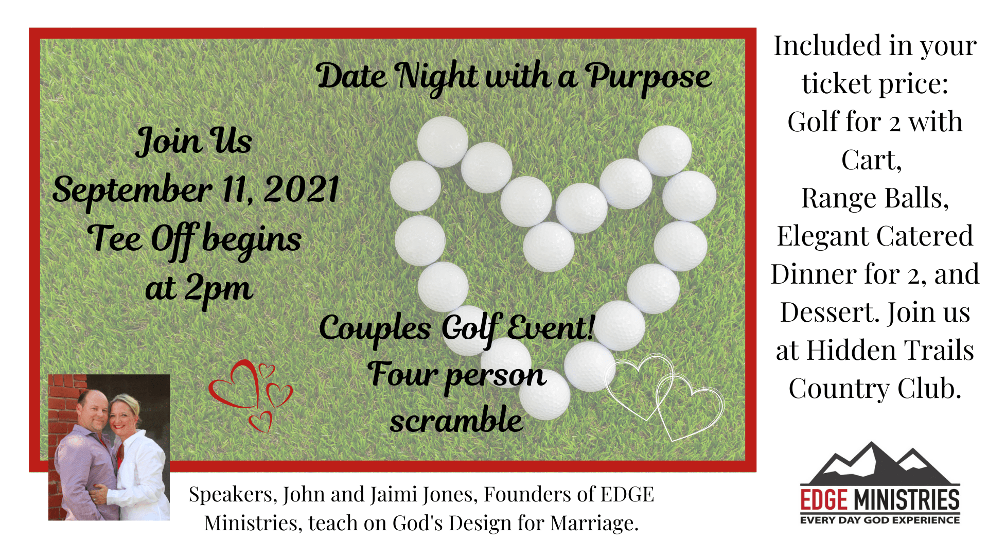 Date Night with a Purpose: Couples Golf Event