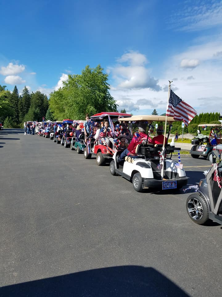 Carts on Parade