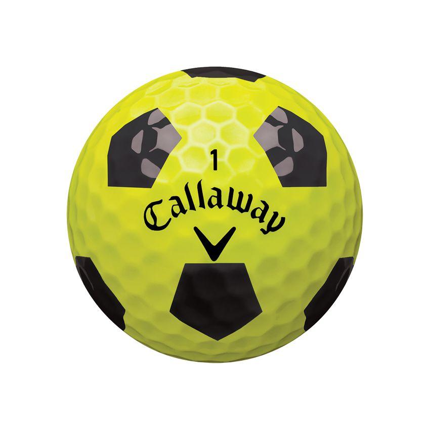 Callaway ChromeSoft TruVis Yellow Ball View