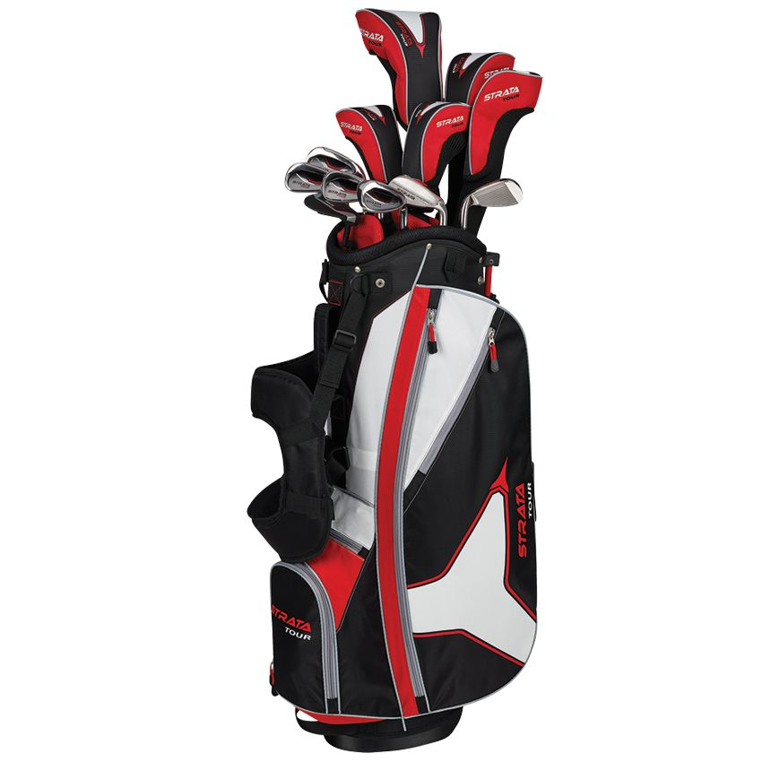 Strata Tour 18 Piece Set w/ Headcovers