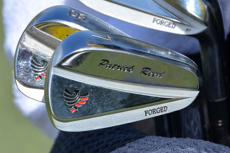 Patrick Reed's Grindworks irons