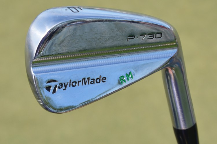 Rory McIlroy's TaylorMade P730 irons