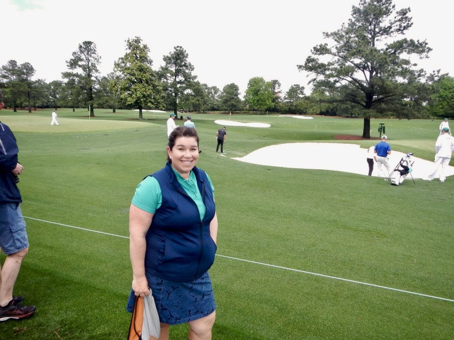 Jessica at Masters