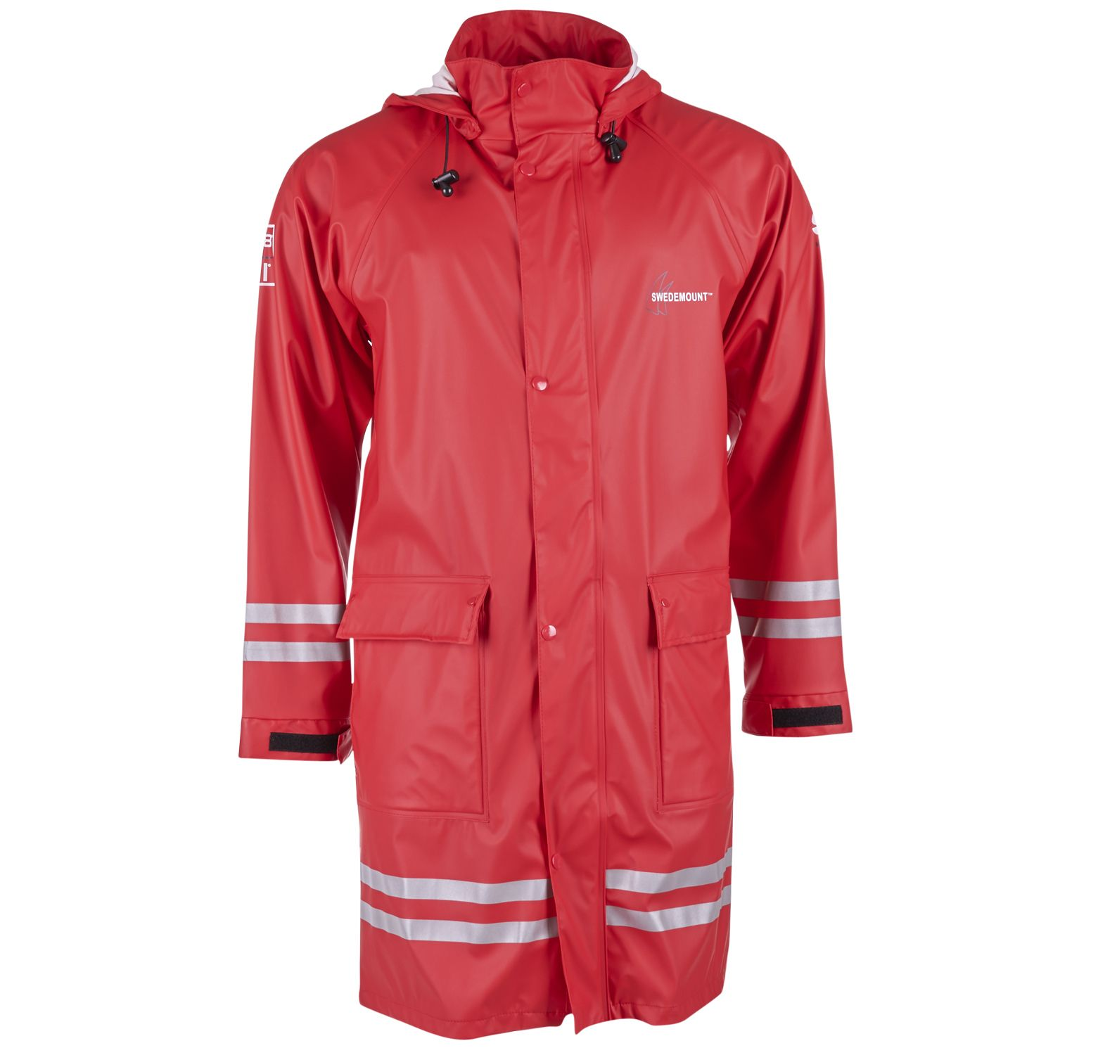 Koster Raincoat, Red, 2xl, Regnkläder