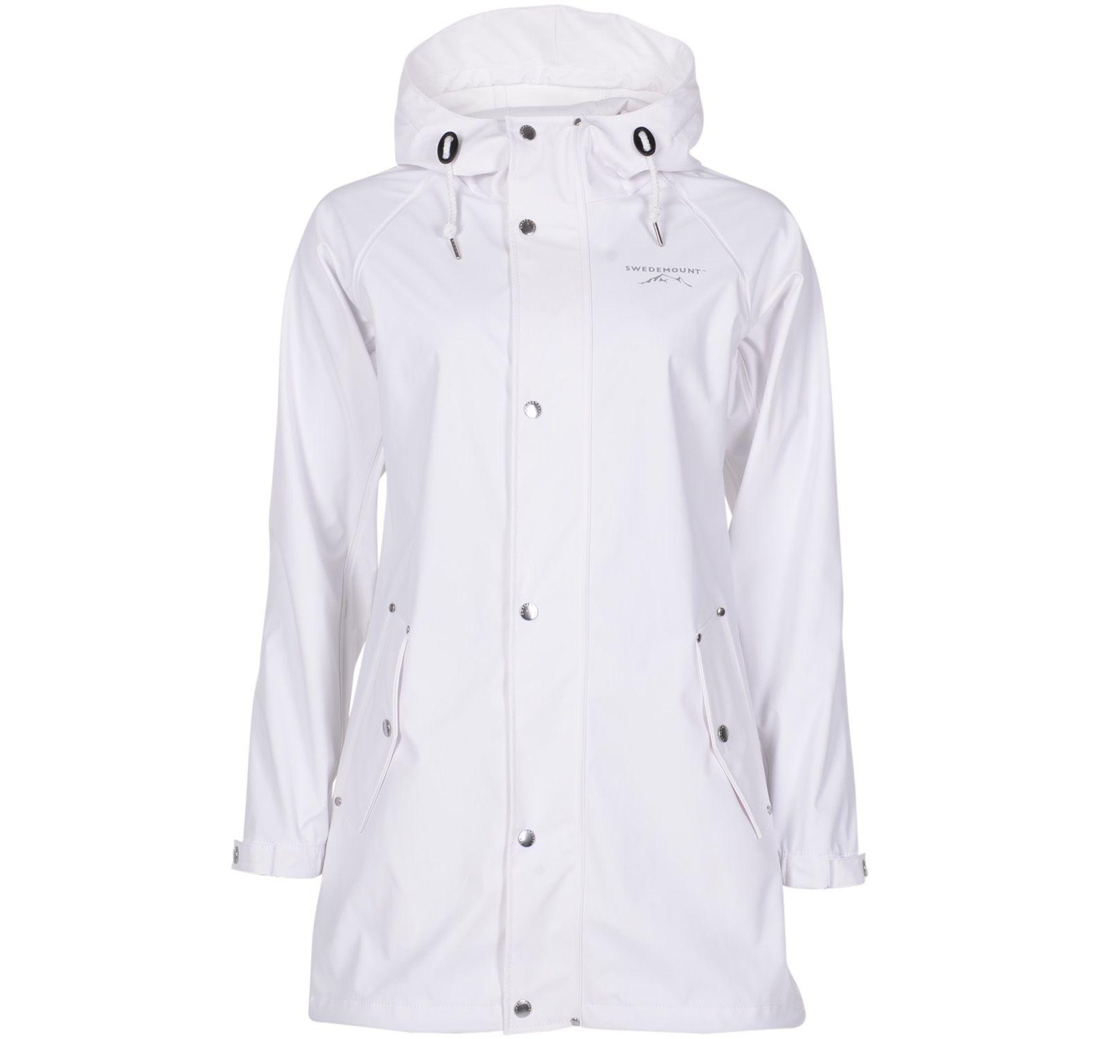 Väderöarna Coat W, White, 50, Regnkläder