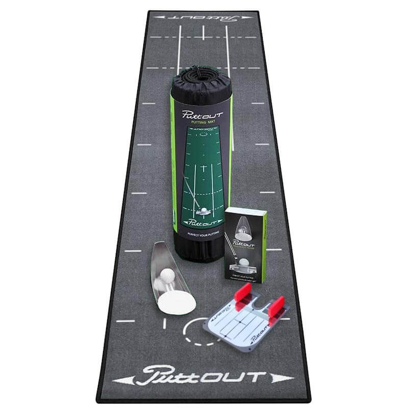 PuttOUT Putting Golf Complete Package - Grey