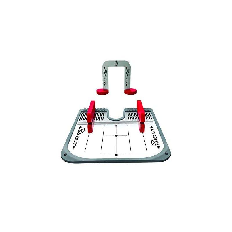 PuttOUT Putting Mirror Trainer-Grey