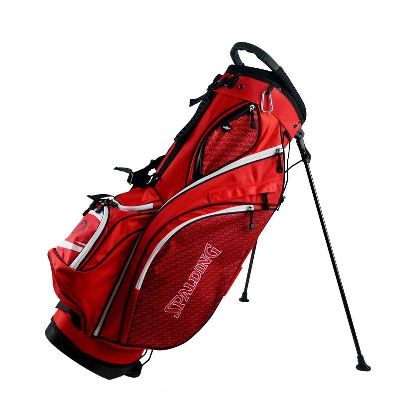 Spalding Golfbagar - Spalding Elite Golf Bärbag Röd/Vit