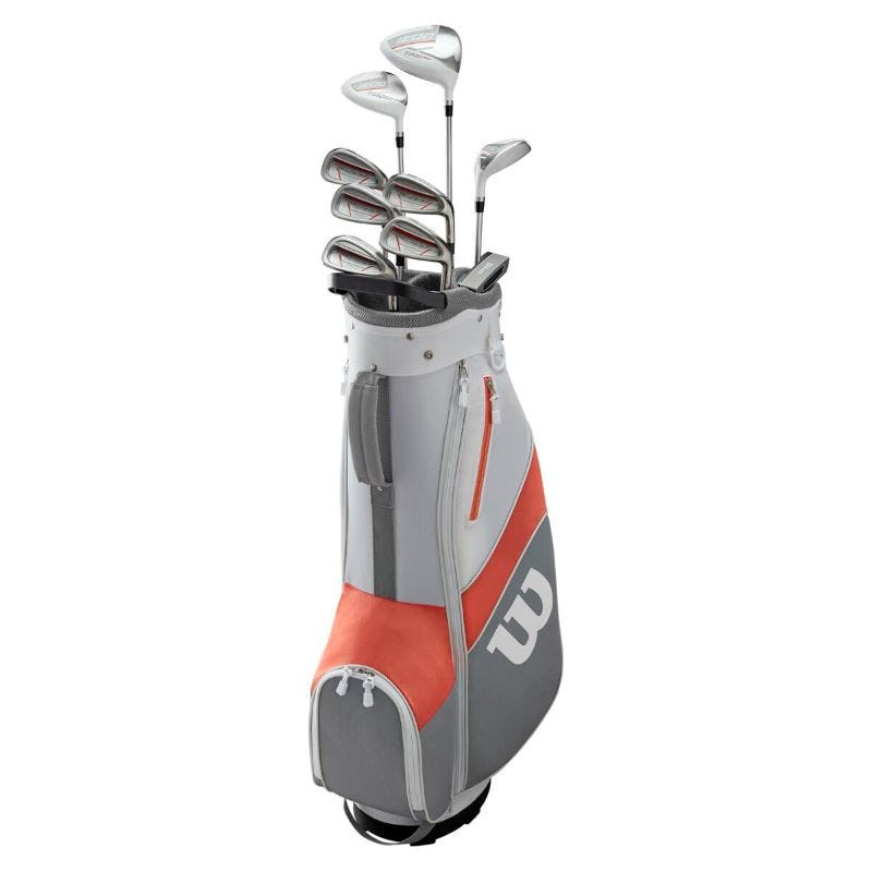 Wilson 1200 TPX Lady Graphite/Steel Right Full Golf Set