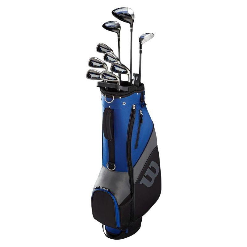 Wilson 1200 TPX Men Full Golf Set Graphite/Steel -Right