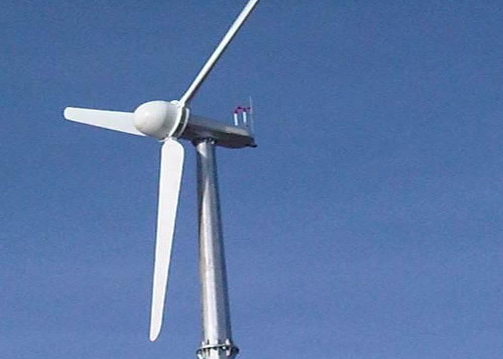 Abaarso Tech Wind Turbine Installation 20kw