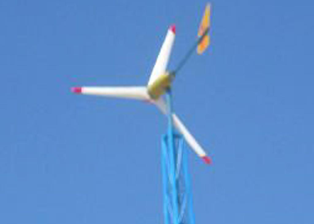 Wind Turbine in operation in Burao