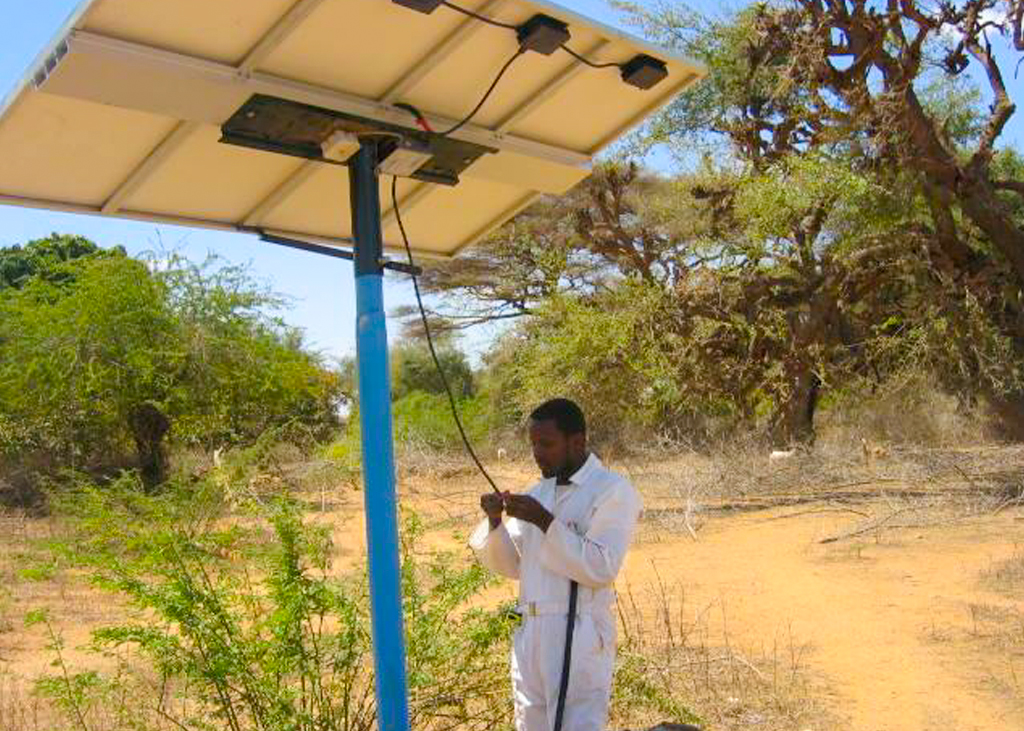 Installing solar water pumps